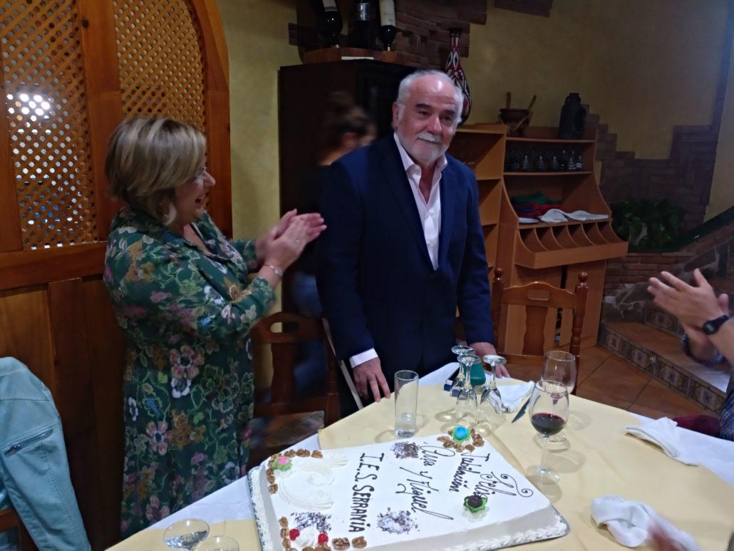Cena de despedida de Ana Bellido y Miguel Arjona
