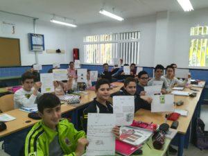 Trabajo de los alumnos de 3º de la ESO - Curso 2017/2018