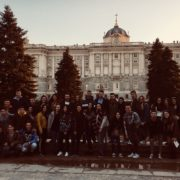 Viaje Bachillerato Madrid Enero 2018 - Palacio Real