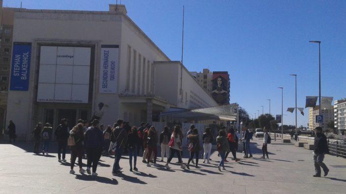Visita CAC Málaga - IES Serranía 2018 - Foto 1