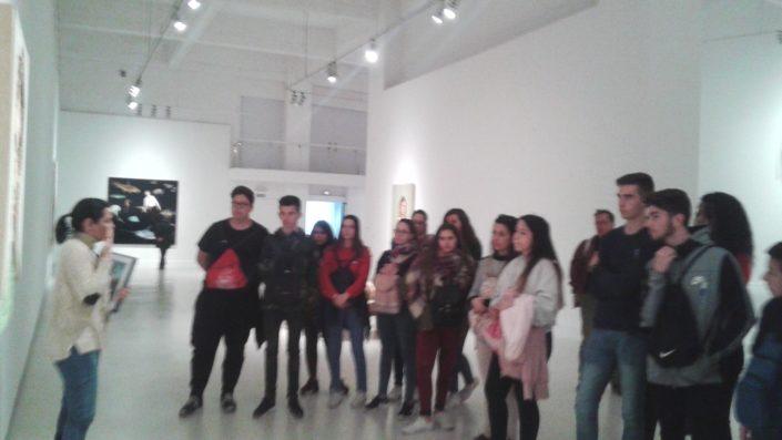Visita CAC Málaga - IES Serranía 2018 - Foto 2