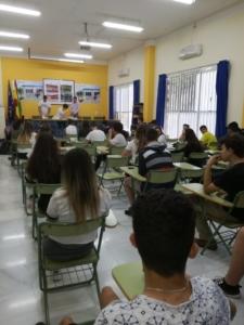 IES Serranía - Evaluaciones Finales de Etapa 2018